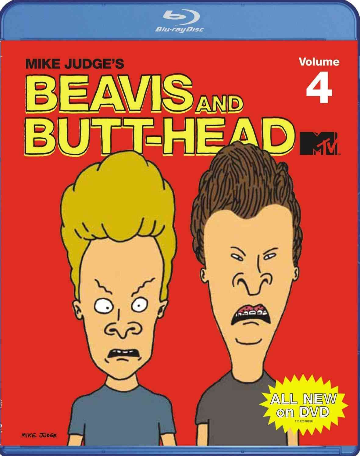 BEAVIS & BUTT HEAD:MIKE JUDGE VOL 4 BY BEAVIS & BUTT-HEAD (Blu-Ray)