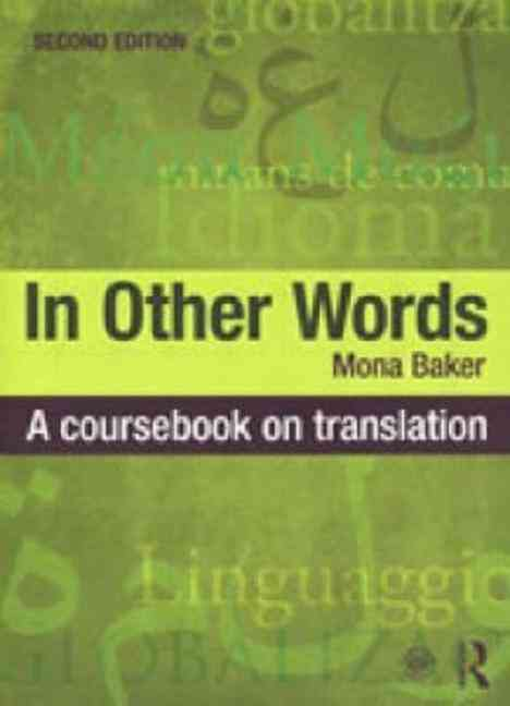 In Other Words By Baker, Mona